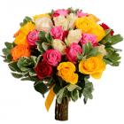 Букет из 27 кенийских роз